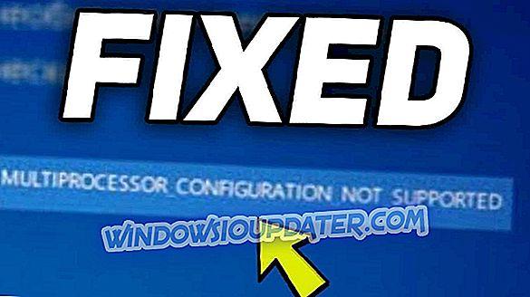 Correzione: errore MULTIPROCESSORE CONFIGURAZIONE NON SUPPORTATA su Windows 10