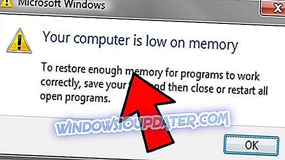 हल करें: विंडोज 10, 8.1 या 7 पर 'आपका कंप्यूटर मेमोरी पर कम है'