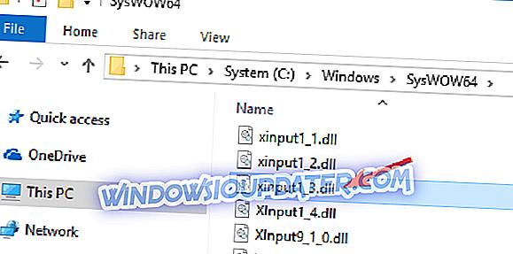 Xinput Windows 10
