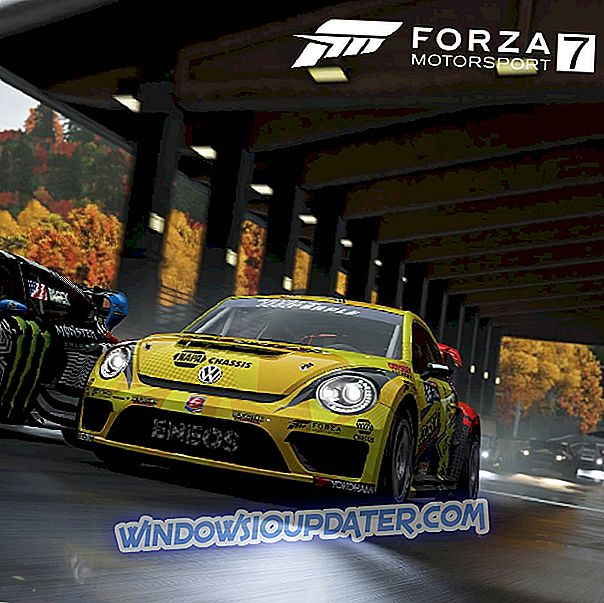Forza Motorsport 7 jookseb kokku: Siin saate seda parandada