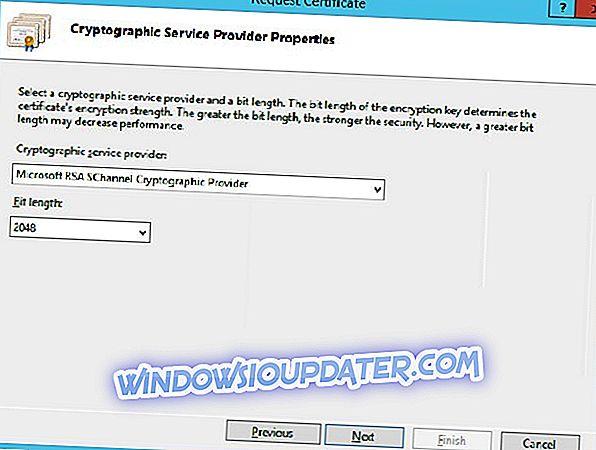 Pełna poprawka: Błąd dostawcy usług kryptograficznych w systemie Windows 10, 8.1, 7