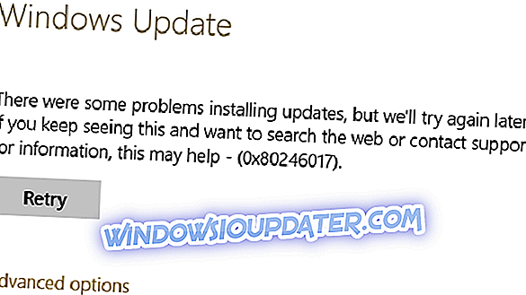 Hur kan jag fixa uppdateringsfel i Windows 10 0x80246017?