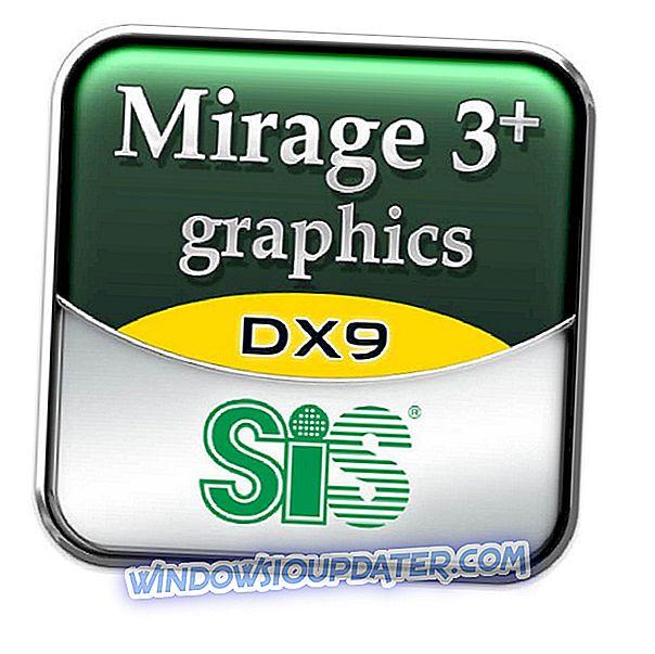 Fix: Anzeigeproblem mit 'Sis Mirage 3-Grafikkarte'