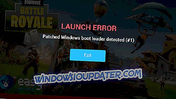 FIX: Rilevato caricatore di avvio di Windows con patch rilevato all'avvio dei giochi
