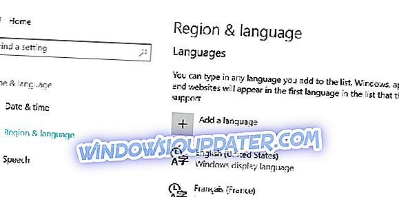 SOLVED: Pek Bahasa Tidak Bekerja di Windows 10, 8.1