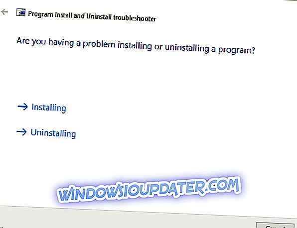 การแก้ไข: Windows 10 ไม่สามารถถอนการติดตั้ง Apple Software