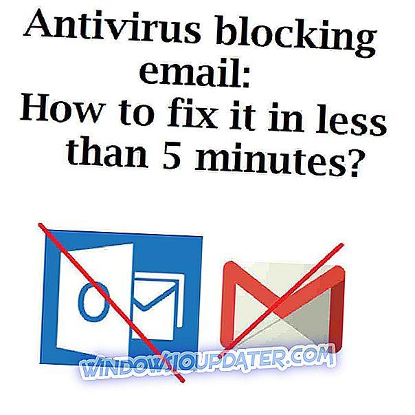 Antivirus blokira e-pošto: Kako jo popraviti v manj kot 5 minutah