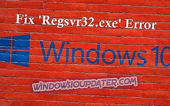 """Popravi: """"Regsvr32.exe ima napačno različico, zamenjajte datoteko s pristno kopijo"""" v sistemu Windows 10"""