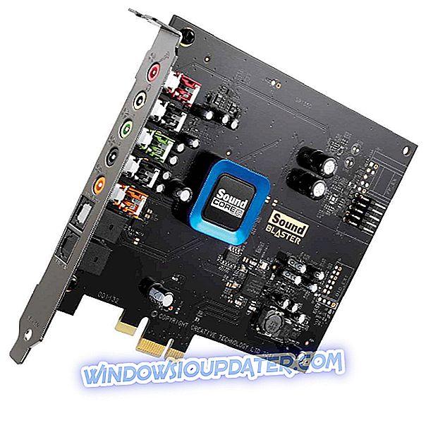 Windows 10でSound Blaster Recon3D PCIeが壊れる