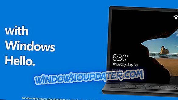 'Kunne ikke gjenkjenne fingeravtrykk' Windows Hello-feil