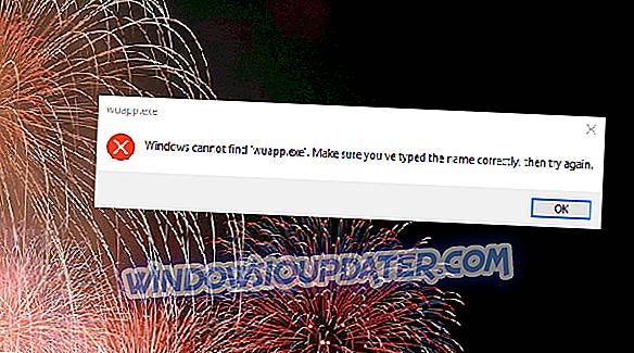 Hva å gjøre hvis Windows ikke finner wuapp.exe