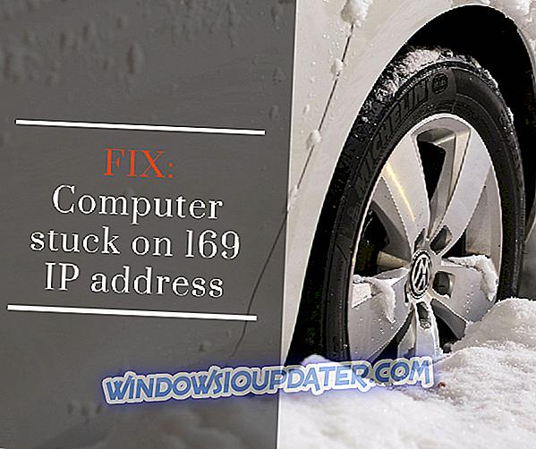 कंप्यूटर 169 IP पते पर अटक गया है [FIX]
