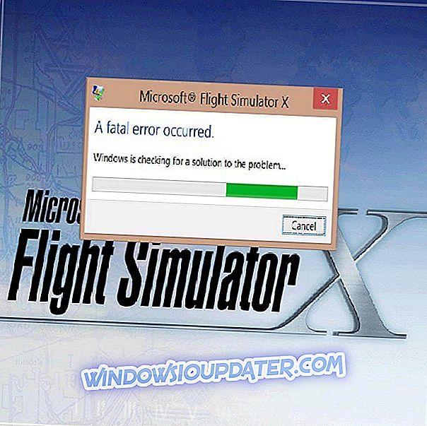 Sådan repareres Microsoft Flight Simulator X fatale fejl i Windows 10