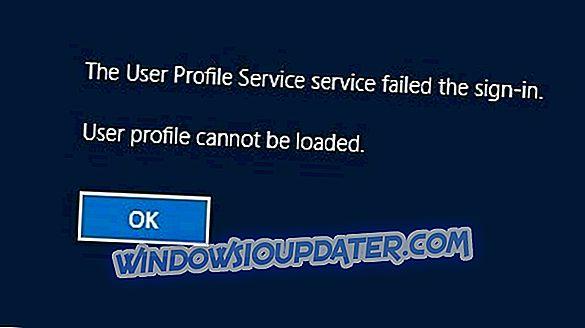 विंडोज 10 में भ्रष्ट उपयोगकर्ता प्रोफ़ाइल [6 बहुत अच्छी तरह से काम करता है]