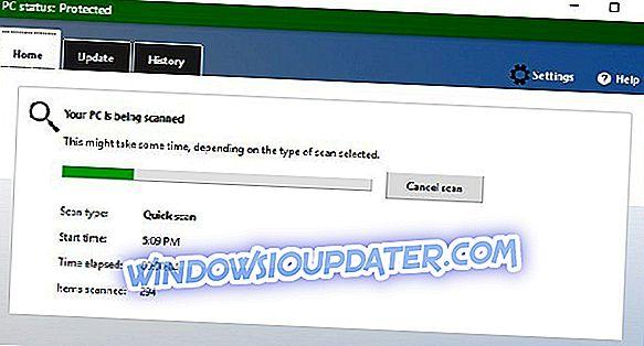 Ето как да поправите грешката на Windows Defender 0x8000404