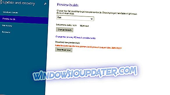 Fix: Error Code 0x80246017 Pri prenosu Windows 10 predogled Build