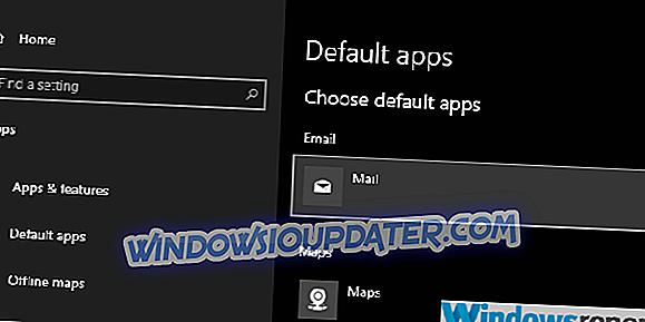 ستجد حلا: لا يمكن تغيير تطبيقات ويندوز 10 الافتراضية