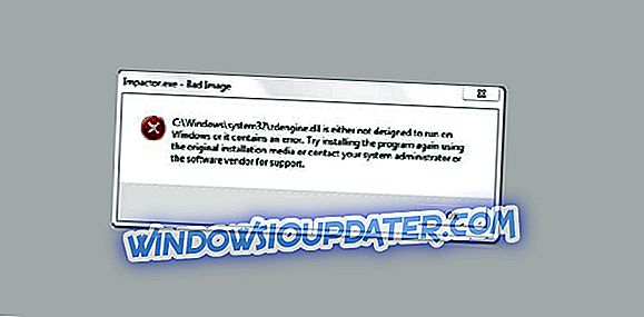 Impactor.exe悪い画像:このエラーを修正し、あなたのアプリを起動する方法