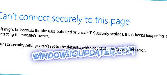 Tidak dapat terhubung dengan aman ke halaman ini [ERROR FIX]