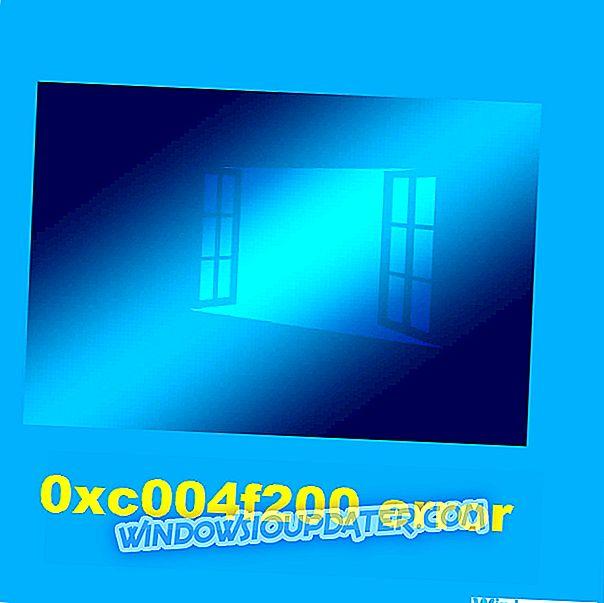 Co dělat, pokud se v systému Windows 10 / 8.1 / 7 vyskytuje chyba 0xc004f200