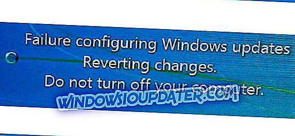 FIX: Hiba A Windows-frissítések konfigurálása, a módosítások visszaállítása