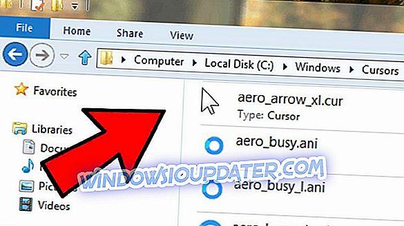 Hur hämtar jag markören på Windows 10?