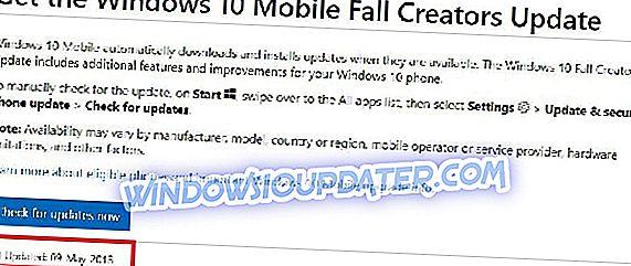 CORRECÇÃO: Erro 80188301 ao instalar o Windows 10 Mobile