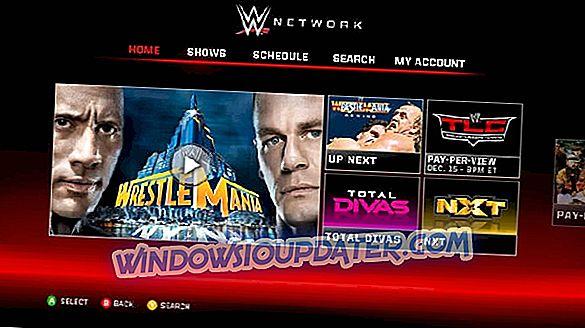 Fix: WWE Mreža Xbox Jedna pogreška
