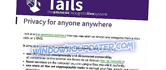 """Atsisiųskite ir įdiekite """"Tails OS"""" """"Windows 10"""" kompiuteriuose"""