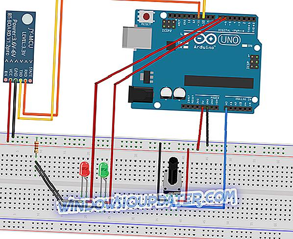 Vytvorte prepojenie Bluetooth medzi systémom Arduino & Windows 8.1, 10 App [Ako]