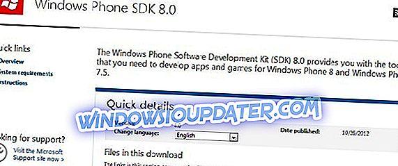 Microsoft에서 Windows Phone 8 SDK를 다운로드하십시오