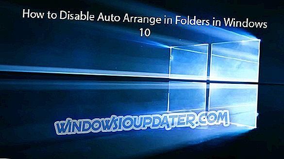 Sådan deaktiveres automatisk arrangering i mapper i Windows 10
