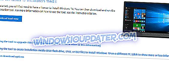 Sådan installeres Windows 10 October Update fra en ISO-fil
