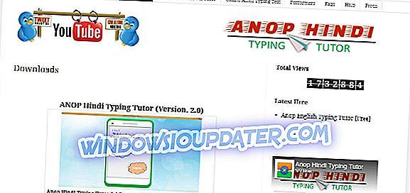 Laden Sie den Anop Hindi Typing Tutor herunter
