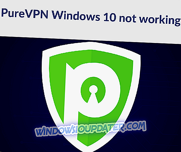 FIX: PureVPN tidak berfungsi di Windows 10