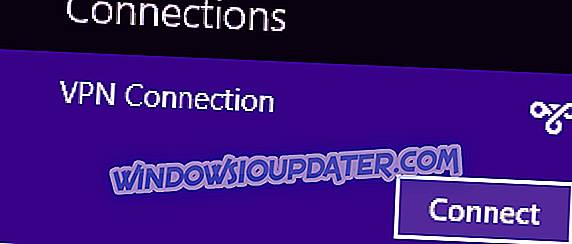 विंडोज 8, 8.1 में वीपीएन कनेक्शन कैसे बनाएं