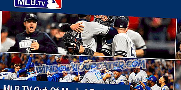Løst: VPN arbejder ikke med MLB.tv