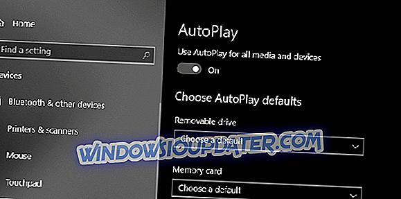 Ako spravovať Windows 10, 8.1 Nastavenia automatického prehrávania