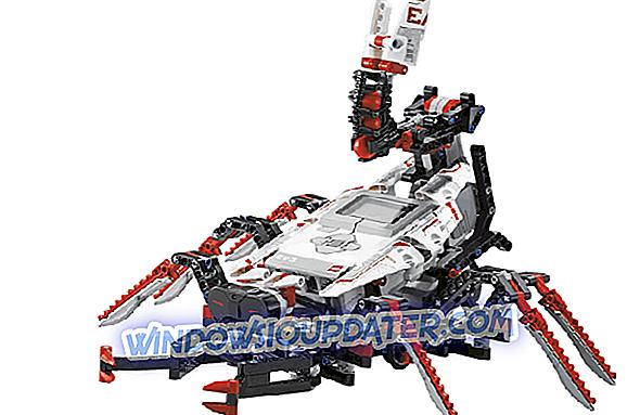 التحكم LEGO Mindstorms EV3 الروبوتات من ويندوز 10 ، 8.1