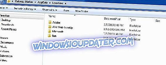 修正:Appdata / LocalLowがWindows 8.1、Windows 10に表示されない