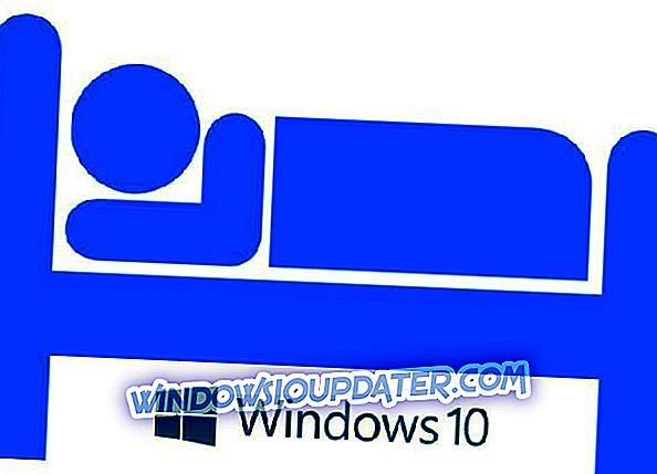 FIX: Dvalemodus mangler i Windows 10