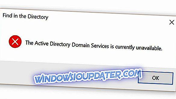 Fix: Active Directory-Domänendienste, die derzeit in Windows 10, 8.1 oder 7 nicht verfügbar sind