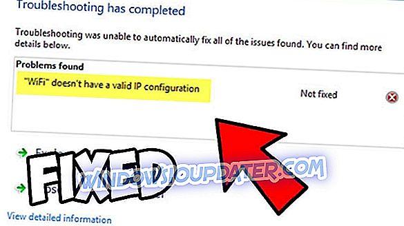 Apa yang perlu dilakukan jika Wi-Fi tidak mempunyai konfigurasi IP yang sah