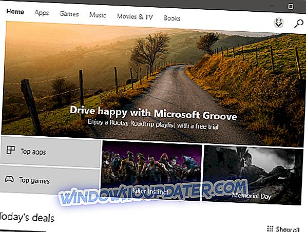 Perbaikan Penuh: Tembolok Windows Store mungkin rusak