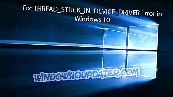 Correction: erreur de blocage du fil dans le lecteur de périphérique dans Windows 10